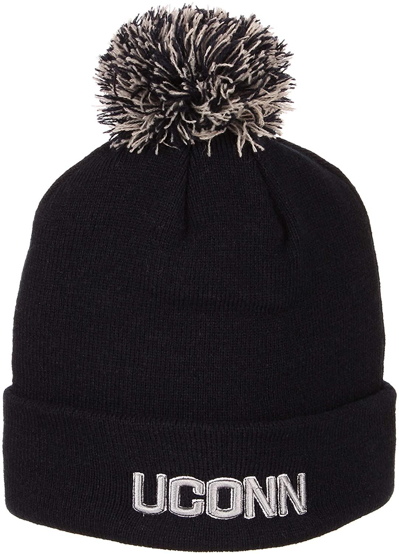 Zephyr Cuff Beanie Hat with POM POM - NCAA ZHATS Cuffed Winter Knit Toque Cap