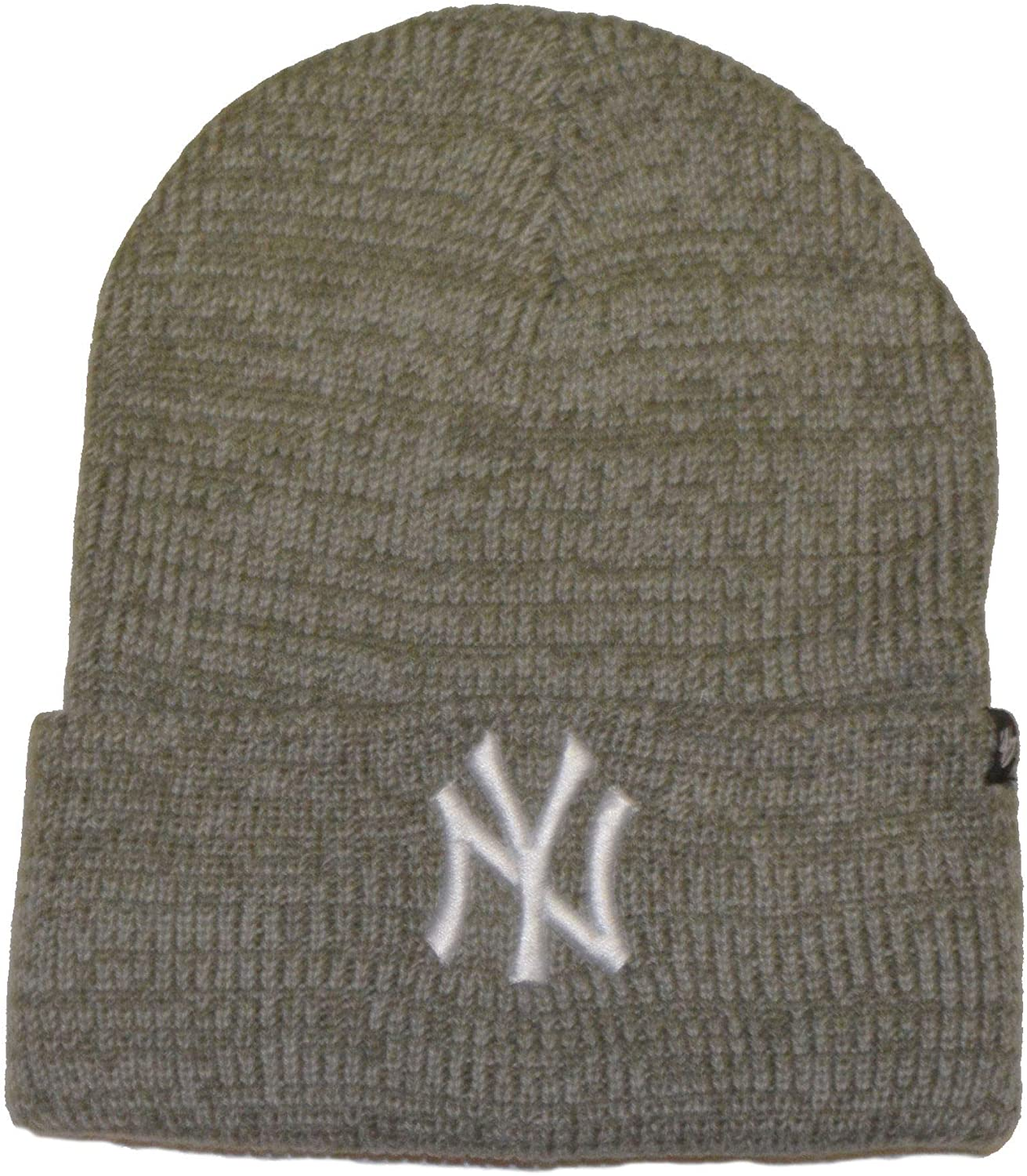 '47 Brand Fashion Cuff Beanie Hat - MLB Premium Cuffed Winter Knit Toque Cap
