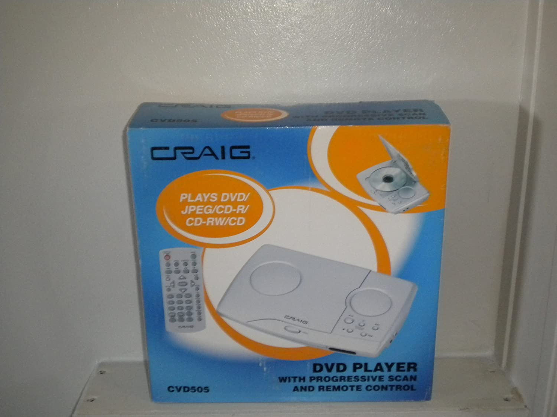 Craig Progressive Scan Dvd Player