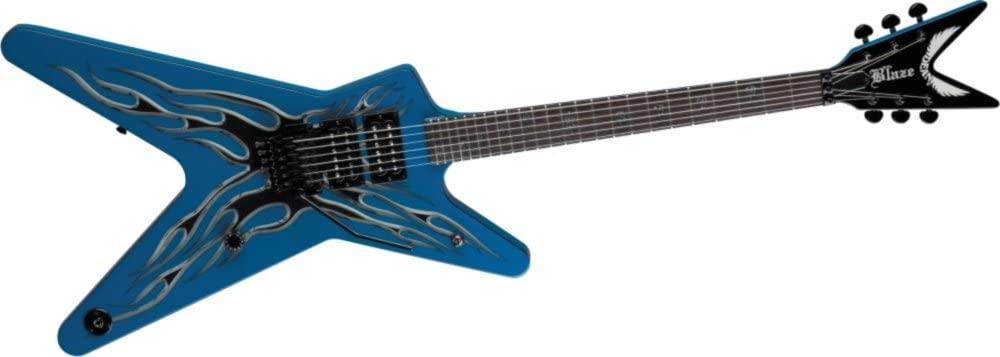 Dean ML Buddy Guitar, Blaze Signature with Case