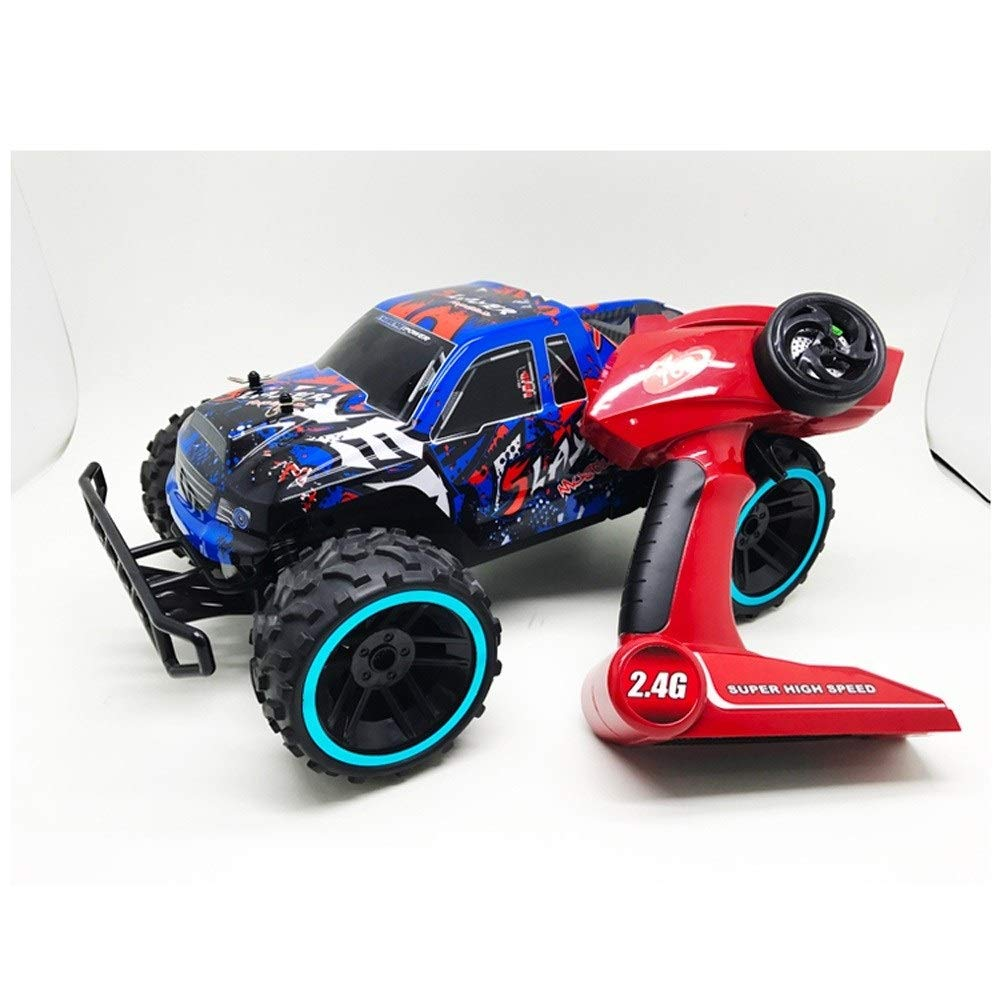 Ycco 1:12 Bigfoot Remote Control Car 4WD All-terrain Off-road Vehicle 2.4GHz Electric Monster Truck Crawlers Chariot 18km/h Rechargeable Controlled Racing Buggy For 3-8 Years Old Boys Birthday Present