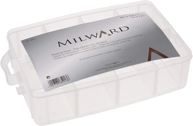 Milward Stack & Store Tray (Deep)), 23.1 x 15.6 x 6.4cm