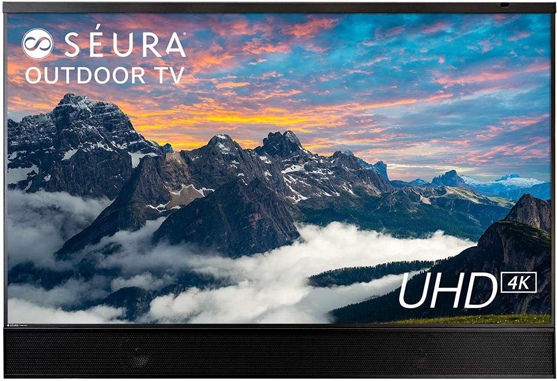 Seura Shade Series 2 65-inch Weatherproof 4K Ultra HD Outdoor TV with Soundbar (2nd Gen)