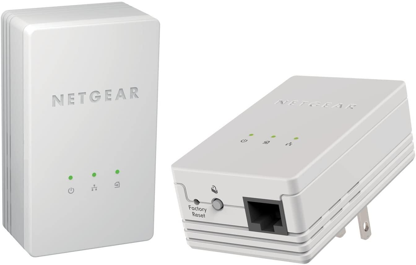 NETGEAR Powerline 200Mbps Mini Adapter - Starter Kit (XAVB1301)