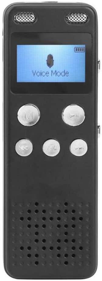 Rpaio Recording Pen, Mini Digital Voice Recorder Business Audio Recording Pen Vibration Speaker 250MAH Lithium Battery Dictaphone MP3 Player