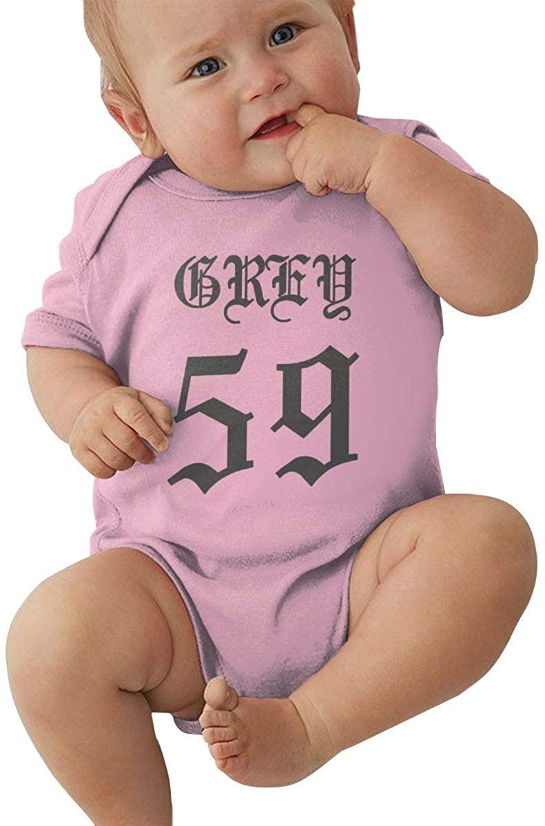 Sui-ci-de-Boys Newborn&Baby Short-Sleeve Bodysuits Cotton Jumpsuit Pink