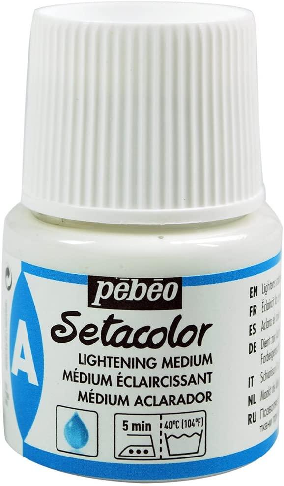 PEBEO 391014 Setacolor Auxiliary Lightening Paint, Medium, 45ml