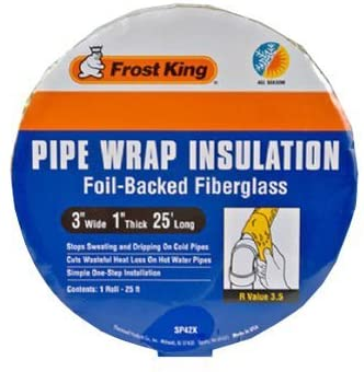 Frost King Pipe Wrap 25 ' L X 3