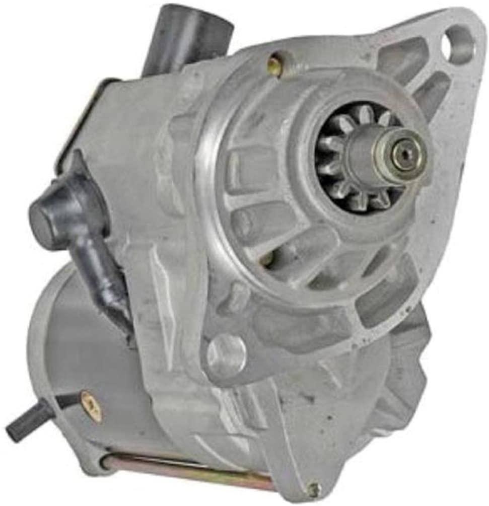 Rareelectrical NEW 4.8KW STARTER MOTOR COMPATIBLE WITH GMC TRUCKS WITH ISUZU 6HK1-TC 6HK1 12596914 228000-9760
