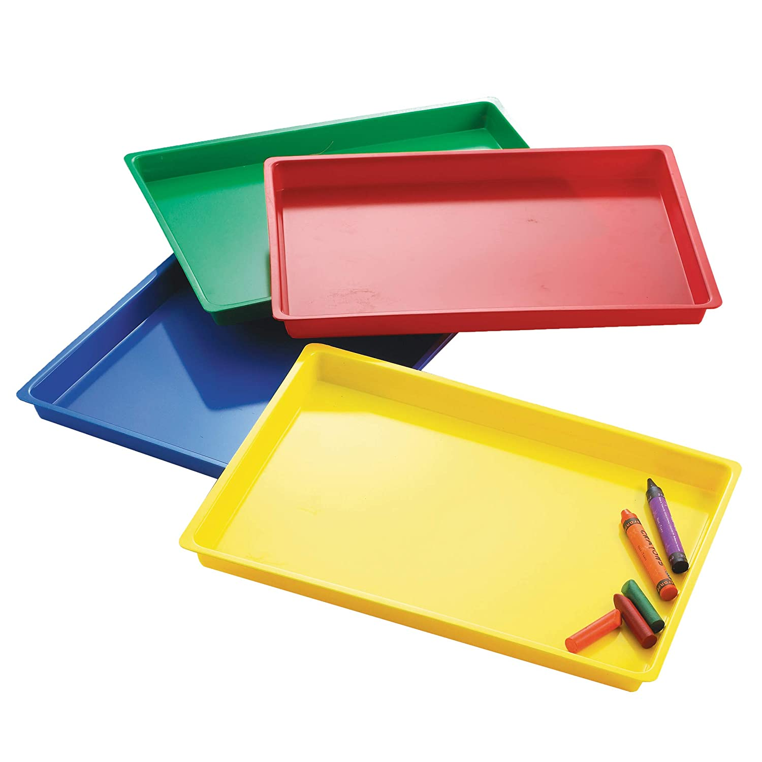 Learning Advantage Multipurpose Trays, Set of 4 Assorted Colors