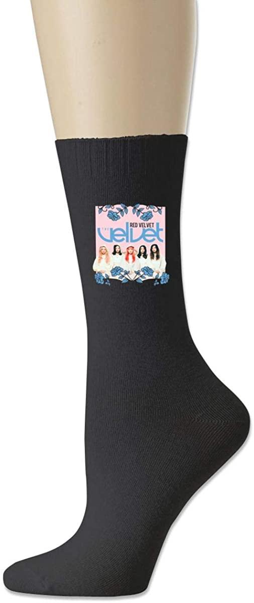 Red Summer Magic Velvet Cotton Socks Moisture Control Crew Socks For Men Women