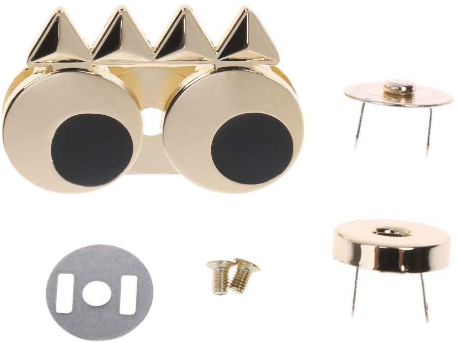 RUZYY DIY Metal Cute Eye Clasp Turn Twist Lock for Handbag Craft Shoulder Bag Purse Hardware Parts