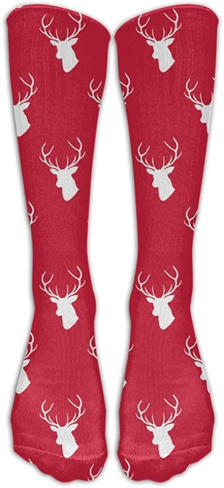 Yoigng Crew Socks Christmas Day Mens Womens Thigh High Tube Dresses Liner Cosplay Stockings