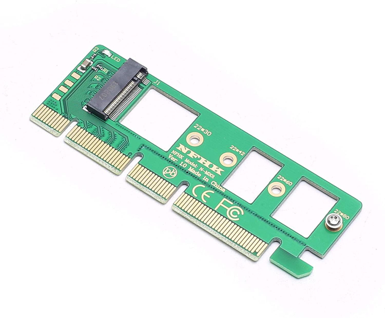 DEVMO M.2 NGFF M-Key to Desktop PCIe x4 NVMe SSD Adapter Card 2242 2260 2280 M2 Drive