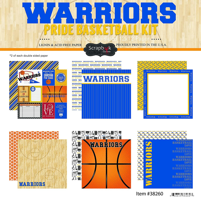 Scrapbook Customs Warriors Pride Scrapbook Kit