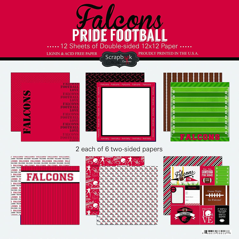 Scrapbook Customs Falcons Pride Football Scrapbook Kit