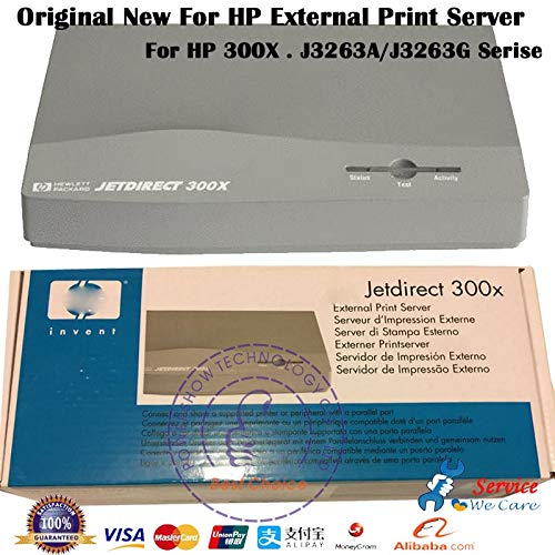 Printer Parts Original New J3263A J3263G 10M/100M for HP Jetdirect 300X HP300X Print Server with Power Supply