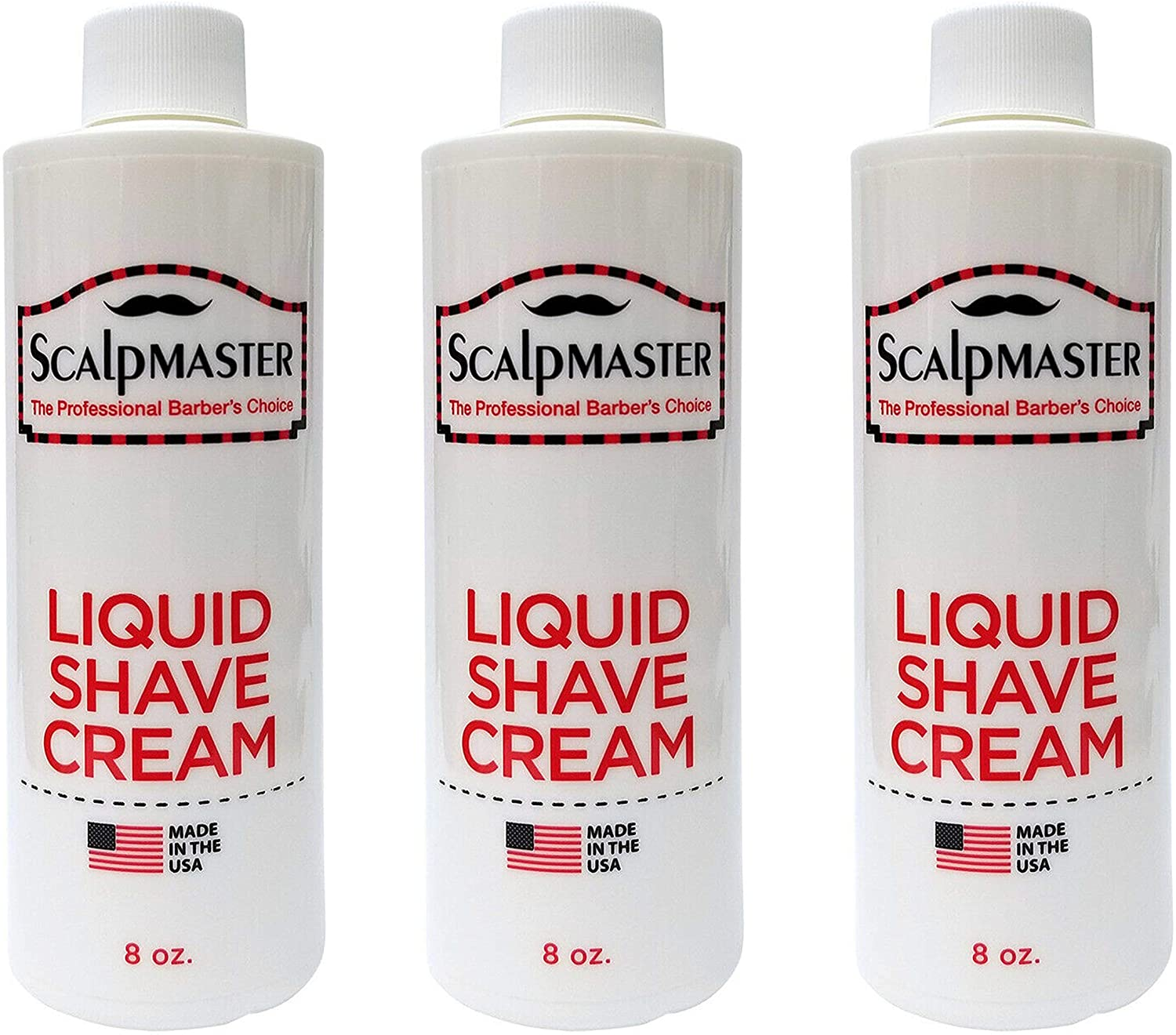 Scalpmaster Liquid Shave Cream (3 Pack)