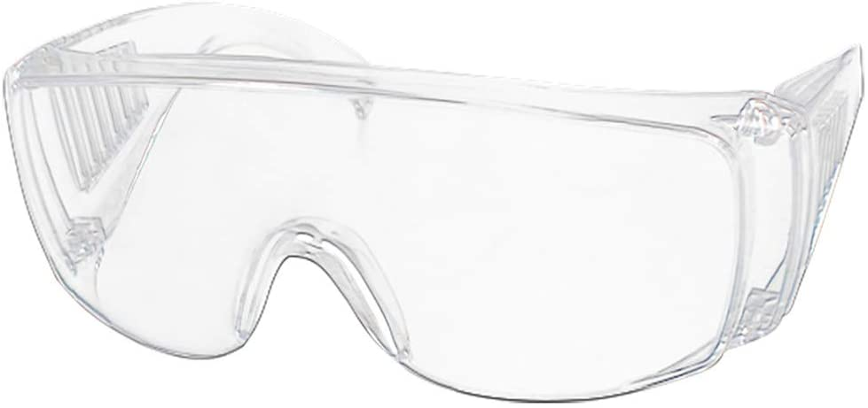 Funic Clear Lightweight Safety Goggles Protective Eyewear Clear Anti-Fog Lens Lab Anti Fog Work Glasses