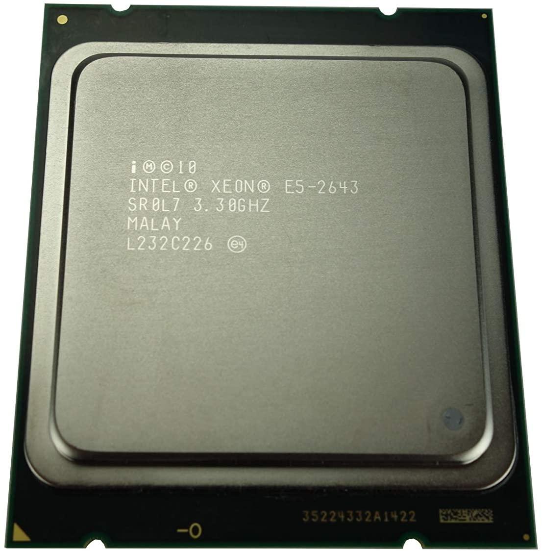Intel Xeon E5-2643 3.33GHz 10MB Quad Core 130W LGA2011 SR0L7 CM8062107185605 (Certified Refurbished)