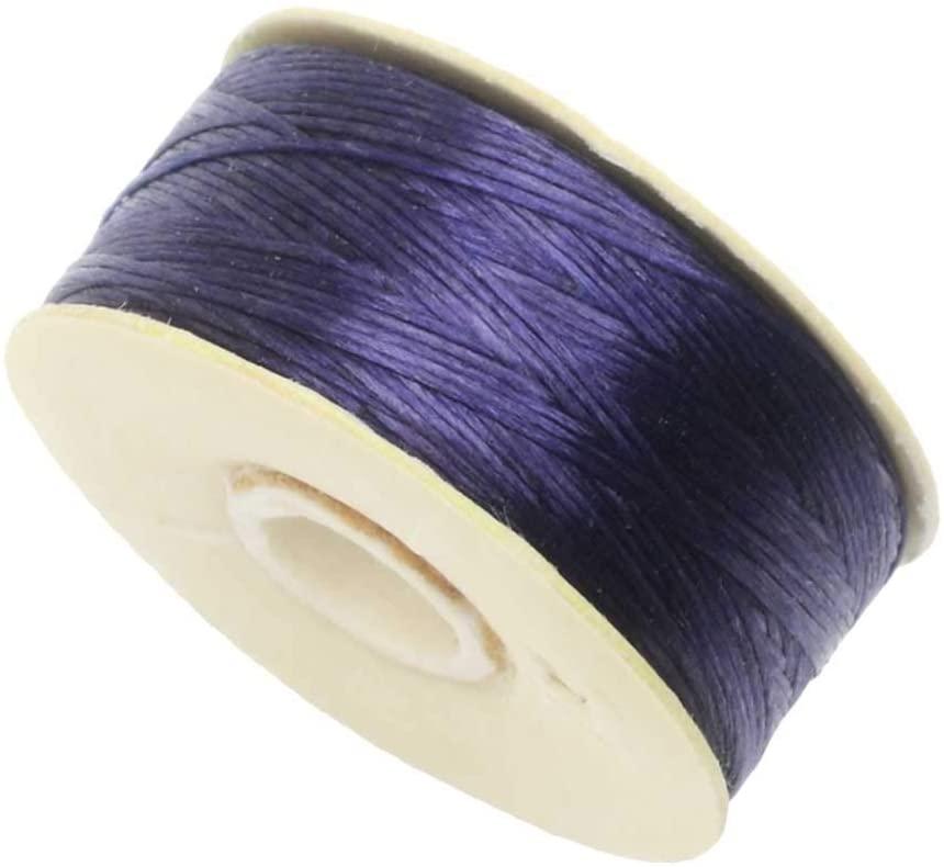 Nymo Nylon Bead Thread Sz D (Delicas) Drk Purple 64Yd