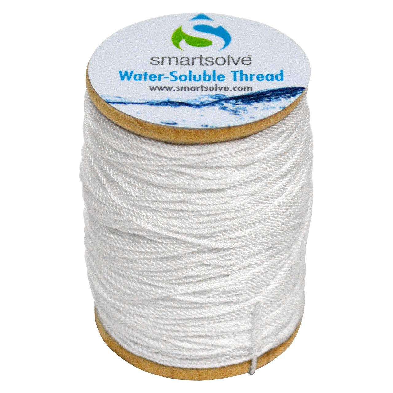 SmartSolve Water-Soluble White Thread.5mm x 75yd