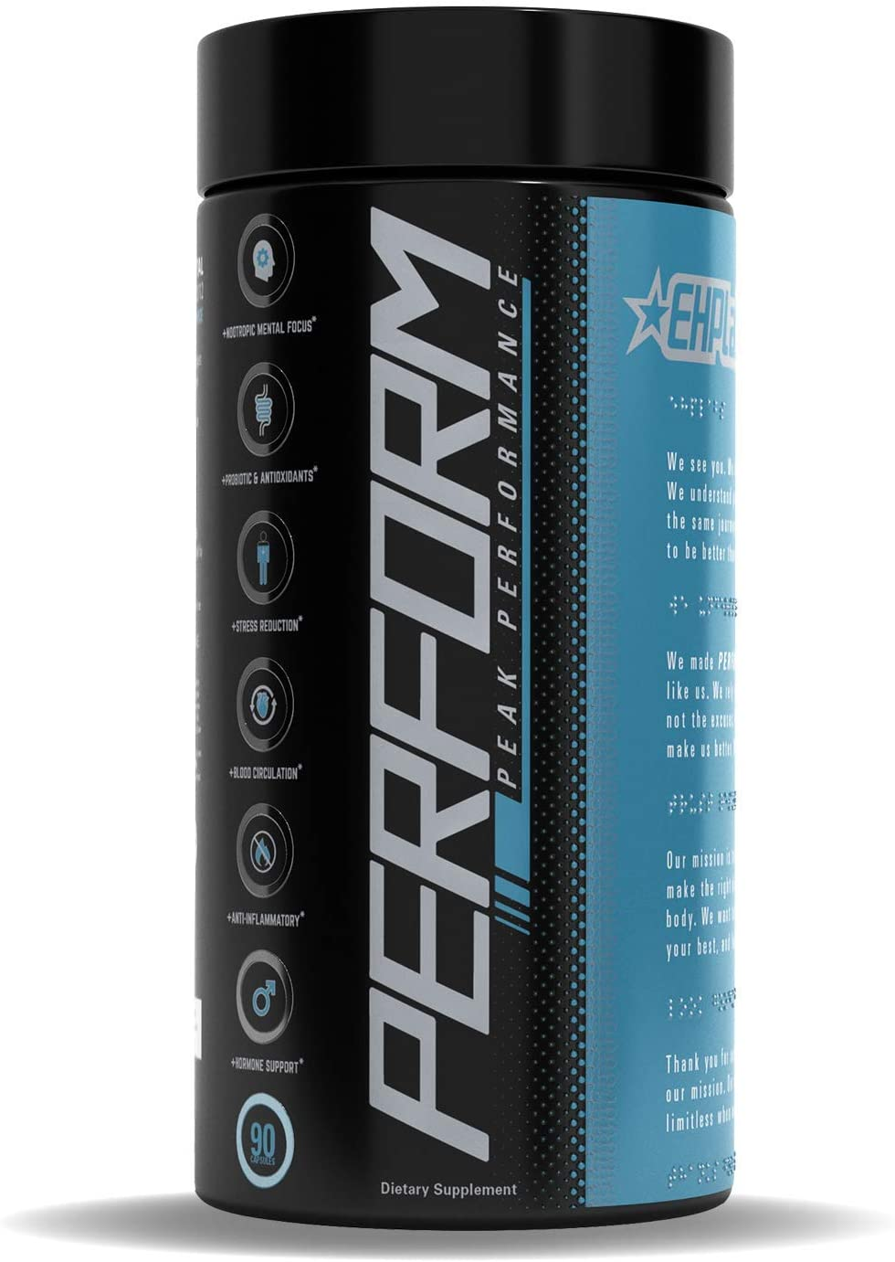 EHPlabs Perform 6-in-1 Men's Peak Performance Multi-Vitamin