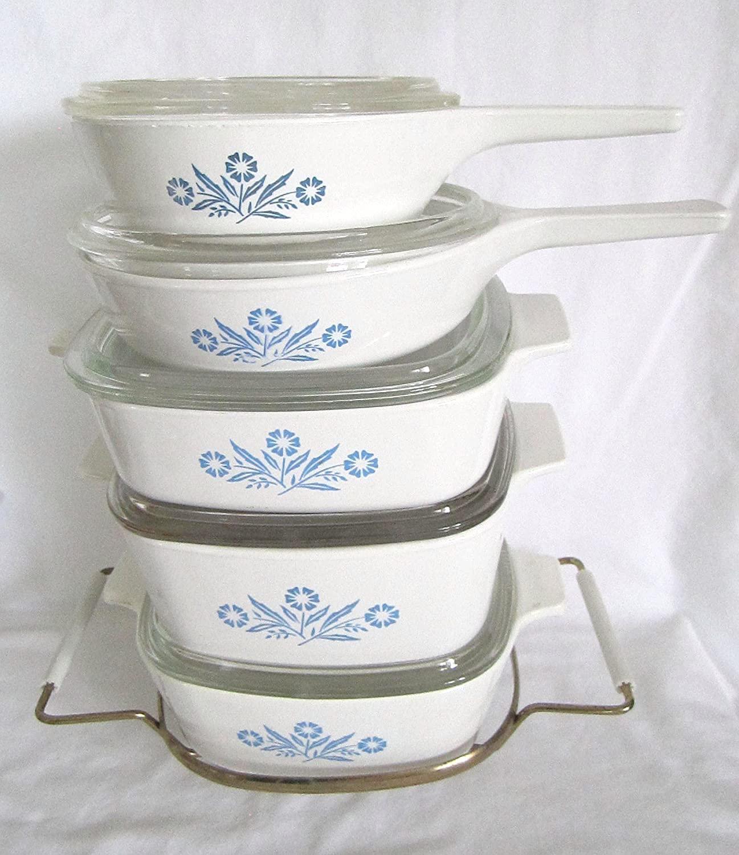 11 Piece Set - Vintage Corning Ware