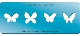 Cool Tools - Embossing Template - Butterflies 1