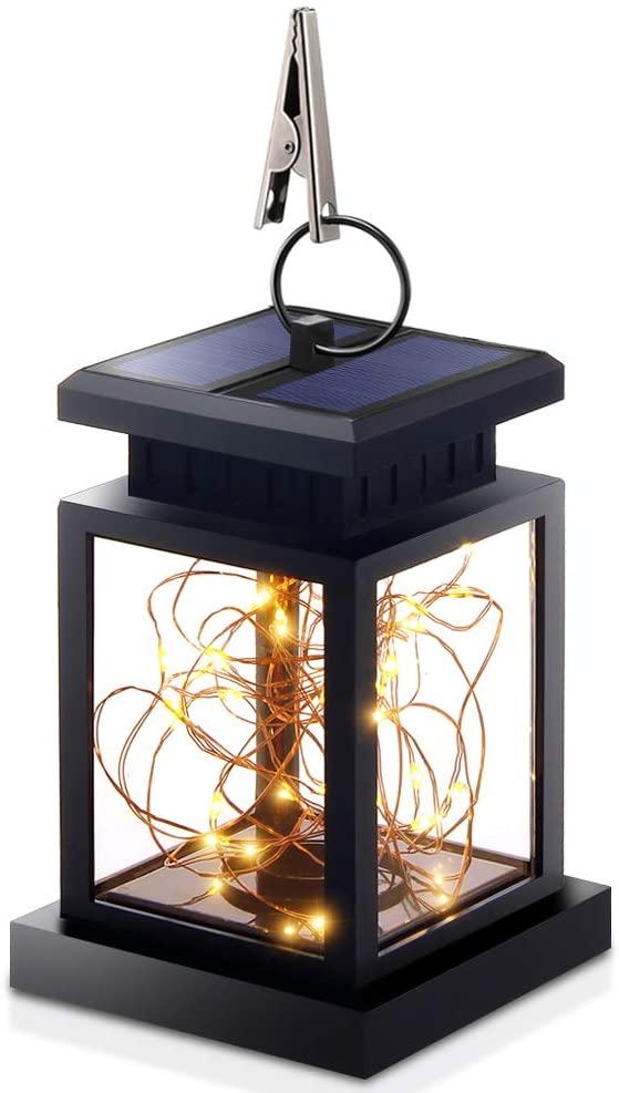 Beacon Pet LED Solar Power Star Fairy Light String Lamp Chandelier for Wedding Party