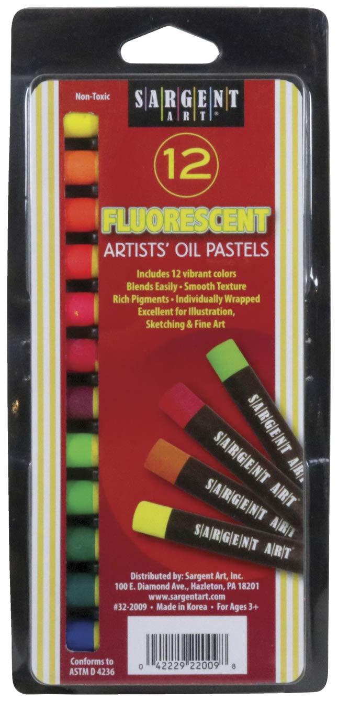 Sargent Art 32-2009 Gallery Oil Pastels, 7/16