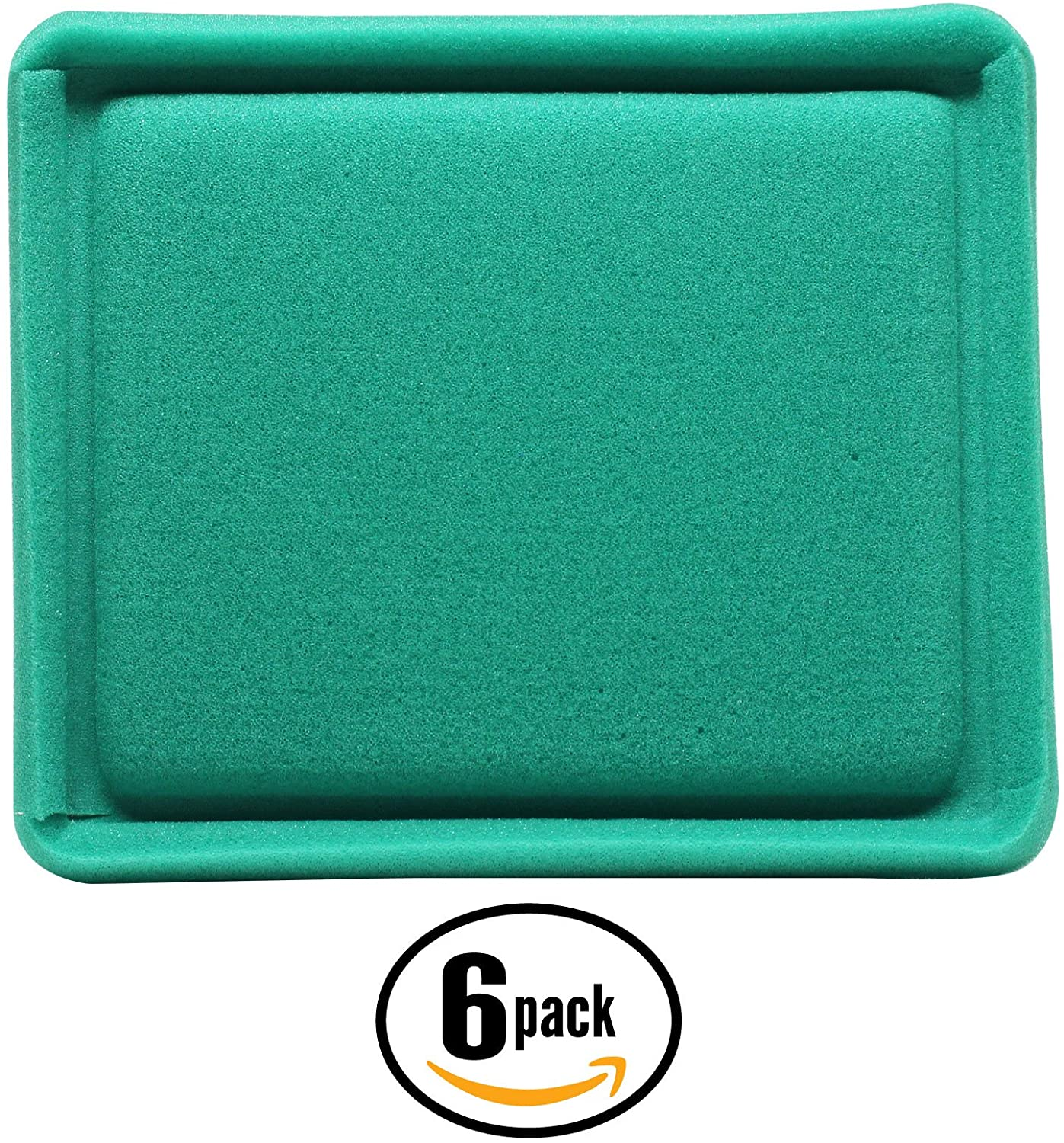 6-Pack Replacement 493537S Filter Pre-Cleaner for John Deere, Toro, Briggs & Stratton - Compatible with John Deere Js20, John Deere Js30, John Deere 14pz, John Deere 14sz, Toro 20323