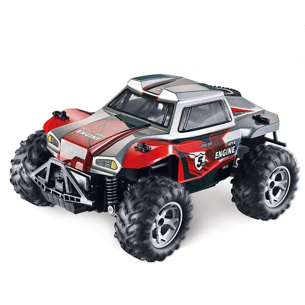 Kikioo 1:14 Big Feet RC Off-Road Vehicle Radio Controlled Climbing Car Toy Hight Speed Cross-country Buggy Cars 2.4GHz Wireless Remote Control Sport Cars Outdoor Game Drifting Car For Kids,Boys & Girl