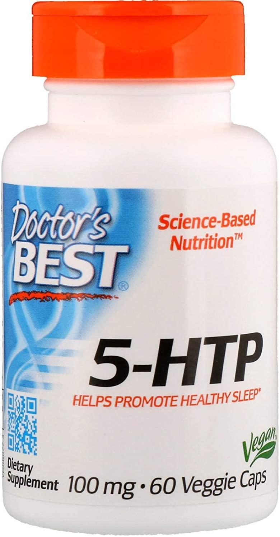 Doctor's Best, Best 5-HTP, 100 mg, 60 Veggie Caps
