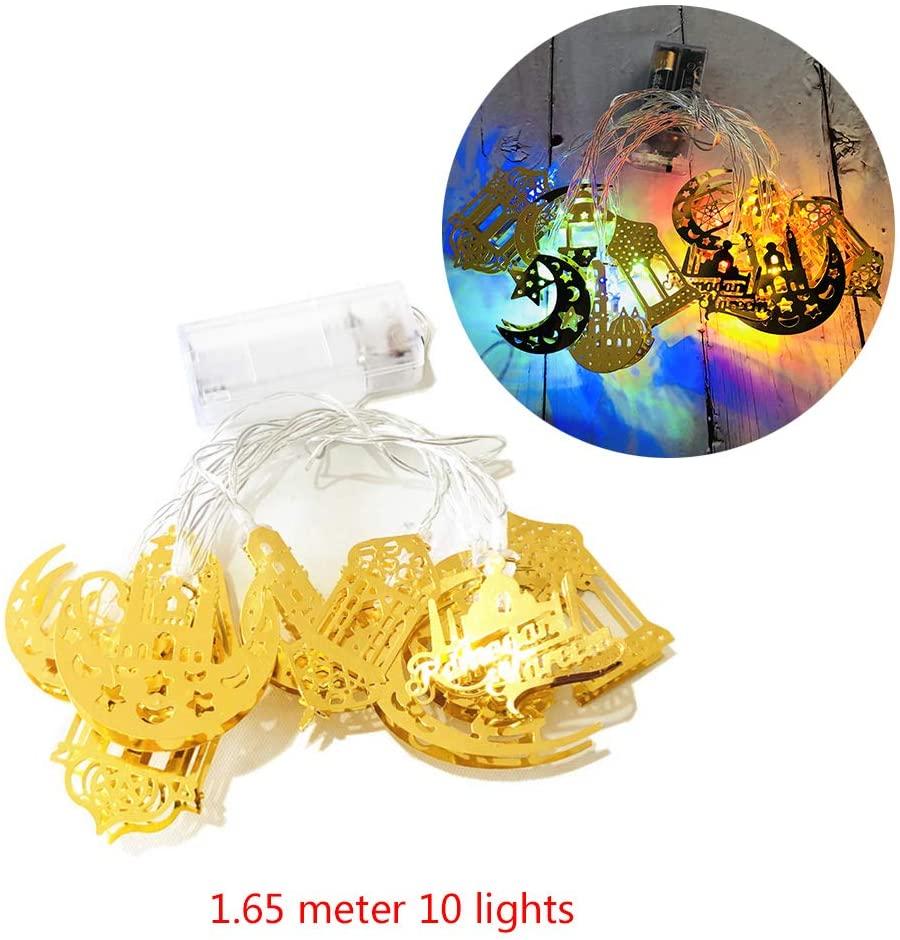 minansostey Ramadan and Eid Decor Lights LED Lights Home Festival Party Festival Favor