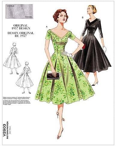 VOGUE PATTERNS V2903 Misses'/Misses' Petite Dress, Size D (12-14-16)