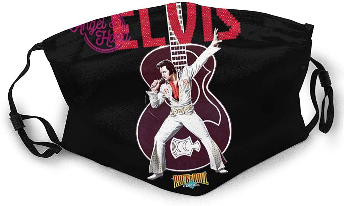 Elvis Presley Reusable For Men Women Breathable Adult Dust Face Mouth Cloth Balaclava