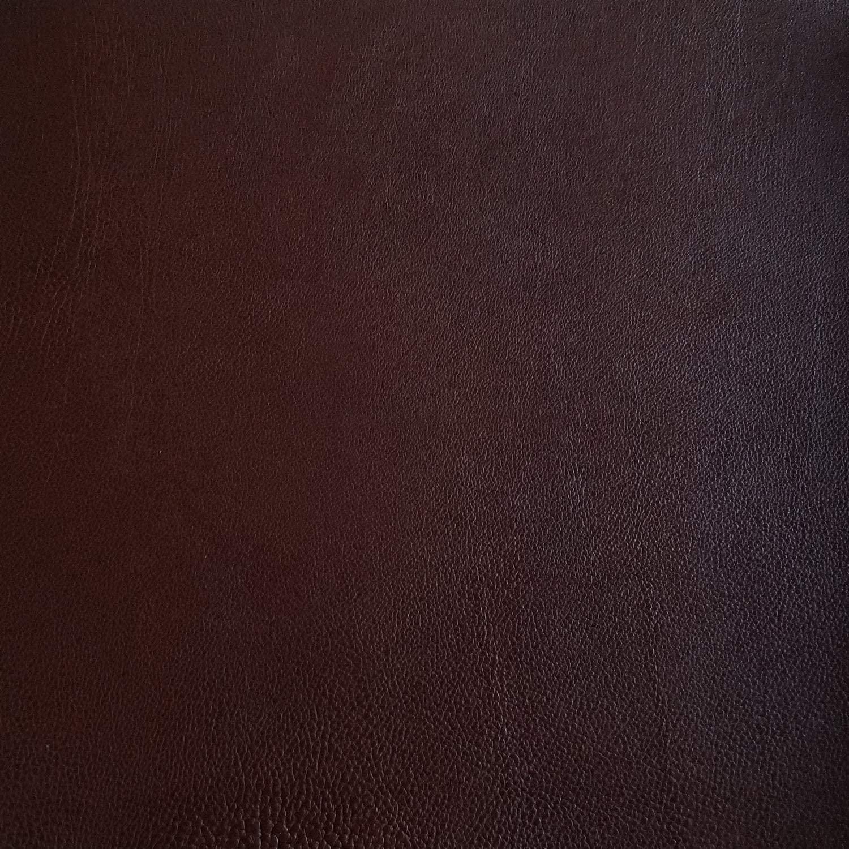 Buffalo Tumbled Brown Veg-Tan Leather Hide 9 Ounce