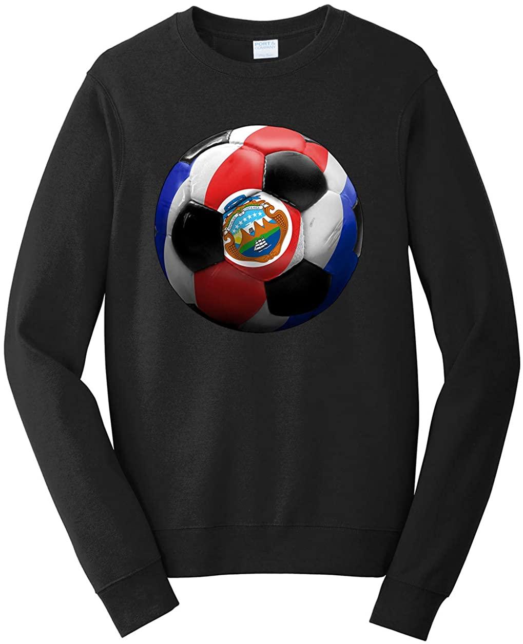 Tenacitee Men's Costa Rica Soccer Sweatshirt