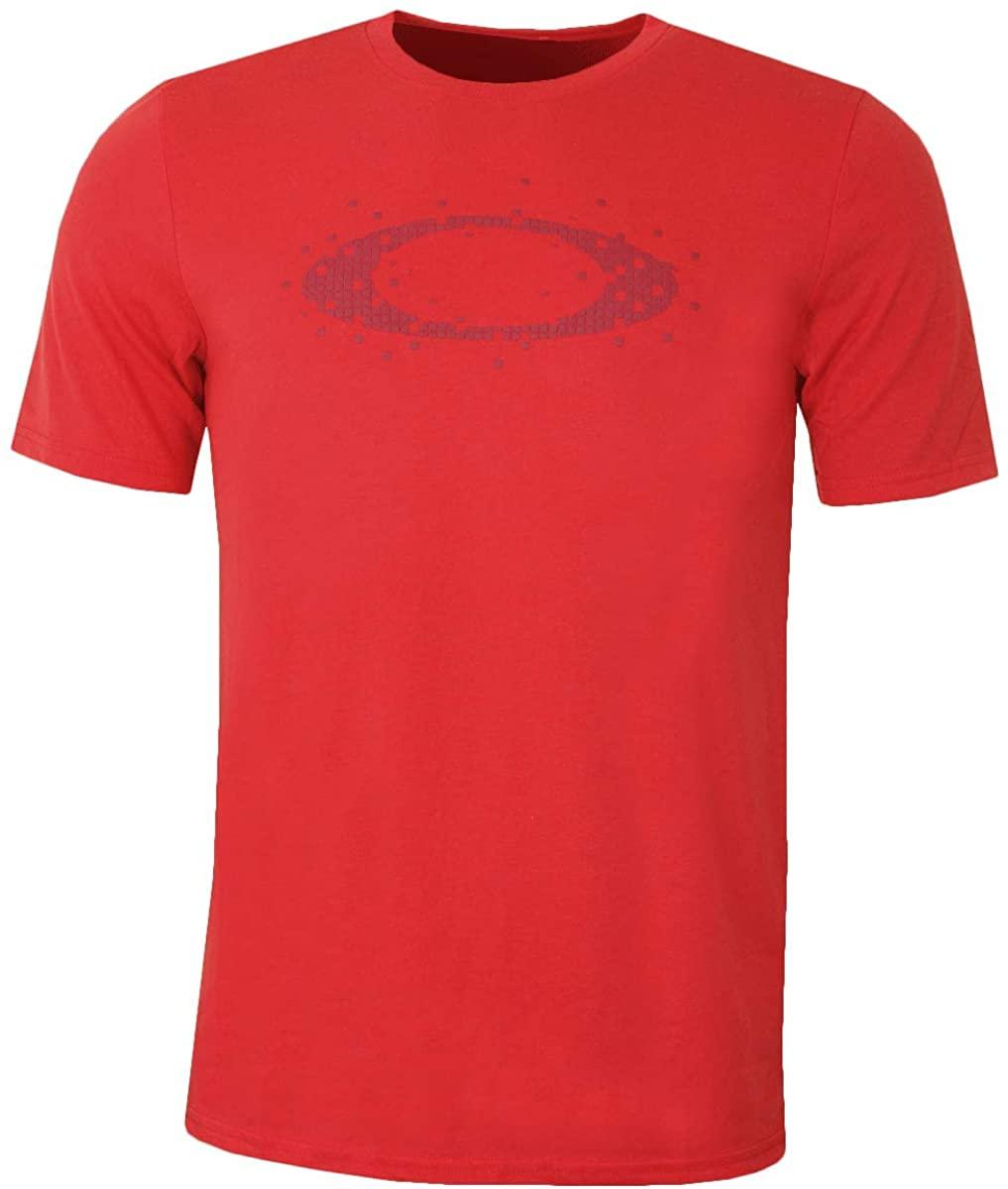 Oakley Men's Ellipse Dots Tee, Blackout, L