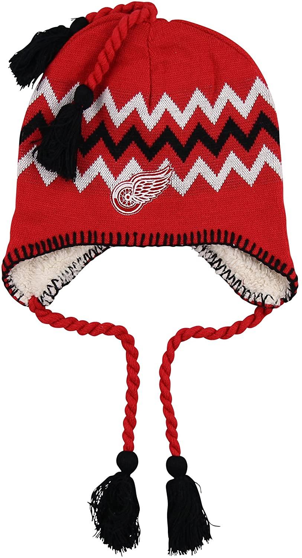 Zephyr NHL Zig Zag Tassle Knit Cap
