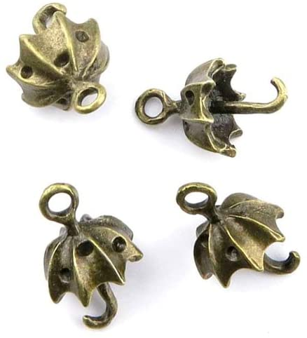 Price per 290 Pieces Jewelry Making Charms YKLC0 Umbrella Pendant Ancient Bronze Findings Craft Supplies Bulk Lots