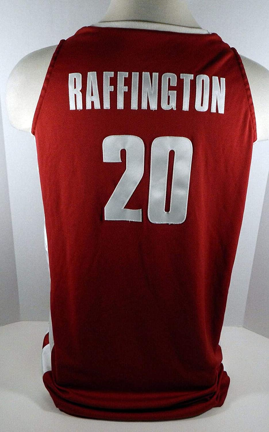 Alabama Crimson Tide Varisia Raffington #20 Game Used Red Jersey - College Game Used