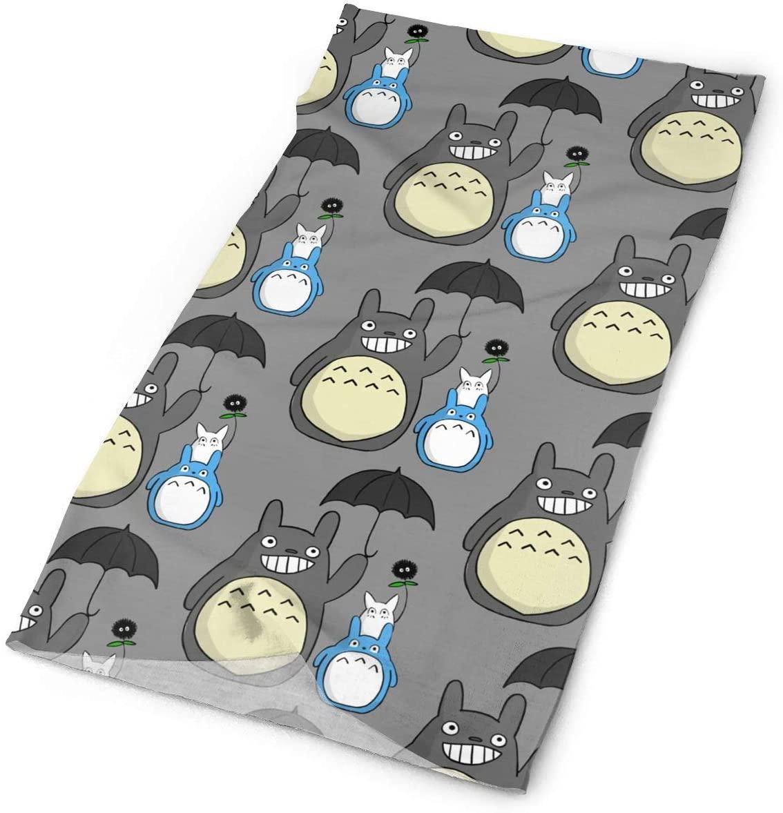 My Neighbor Totoro Tube Cooling Neck Gaiter Scarf Men Women Face Bandana Cover
