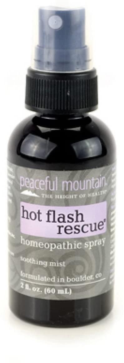 PEACEFUL MOUNTAIN HOT FLASH RESCUE SPRAY, 2 FZ