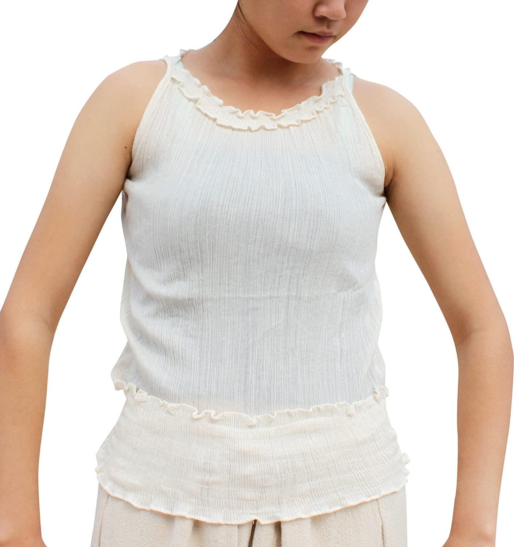 Full Funk Light Sleeveless Cotton Gypsy Ladies Vest Shirt