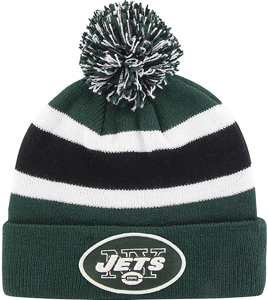 Brand 47 Breakaway Beanie with Pom (New York Jets)