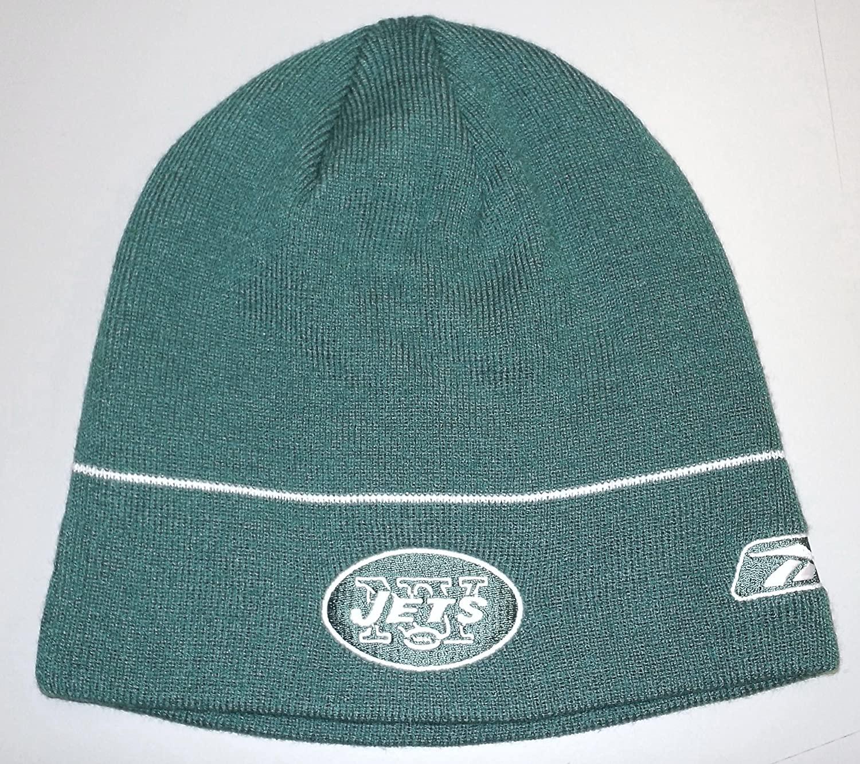 Reebok New York Jets Coaches Cuffless Knit Hat - OSFA - K713Z
