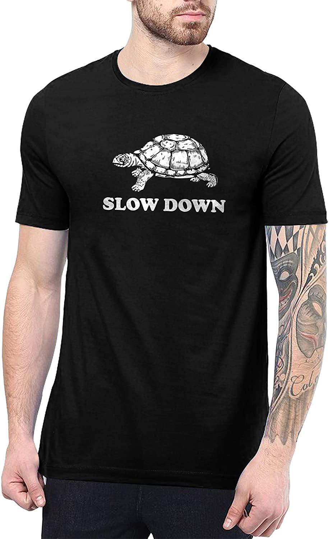 Decrum Funny T Shirts for Men - Black Sarcastic Mens Graphic Tees