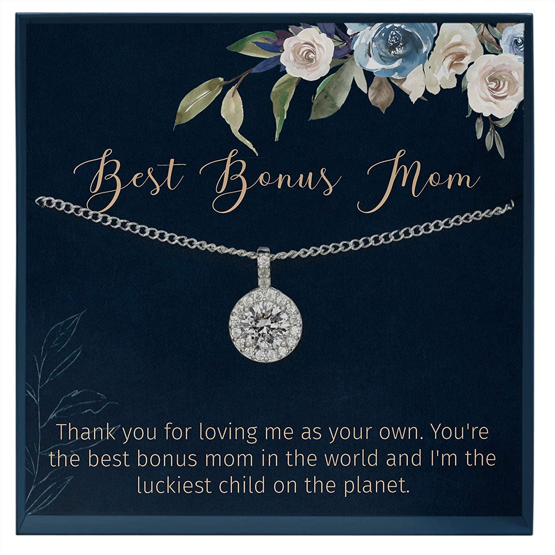 Muse Infinite Bonus Mom Gift Wedding Stepmom of The Bride Gift Bonus Mom Stepmom Birthday Jewelry Gift